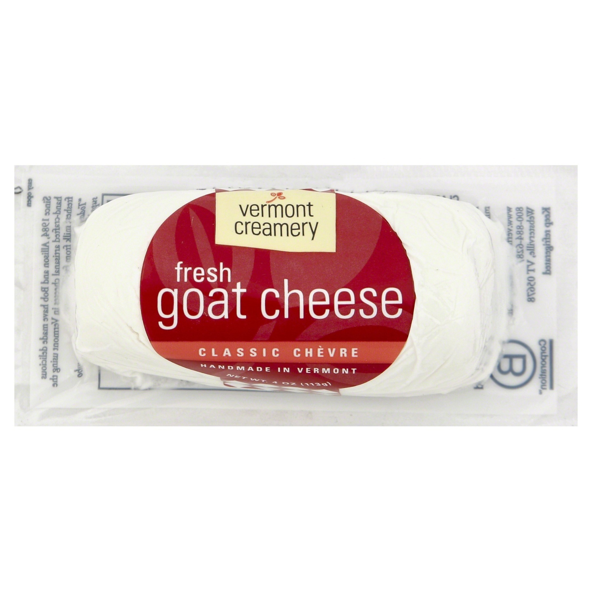 slide 1 of 8, Vermont Creamery Goat Cheese Log,
