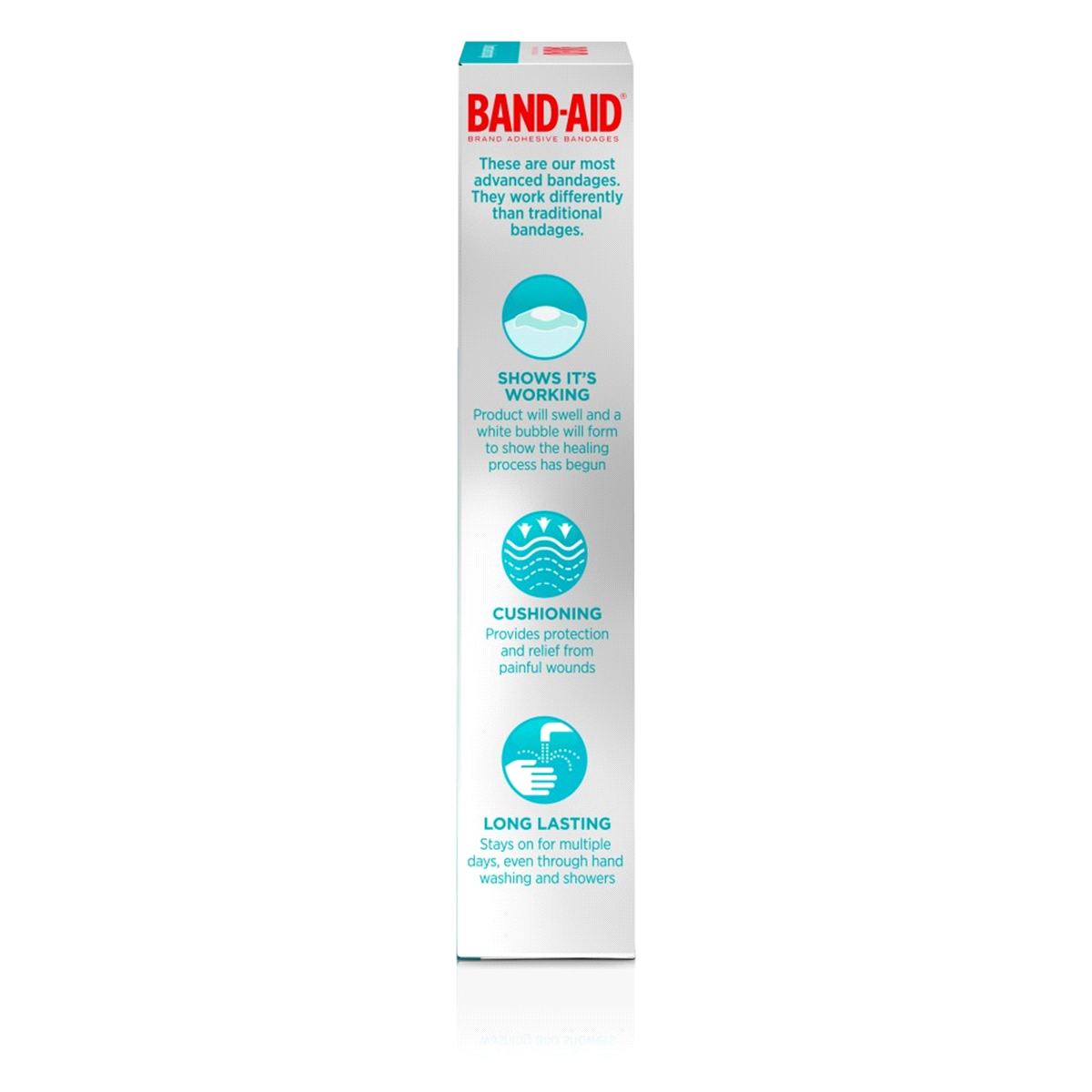 slide 4 of 6, BAND-AID Hydro Seal Fingers Adhesive Bandages,