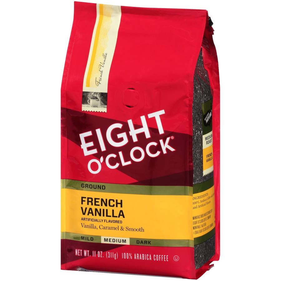slide 3 of 7, Eight O'Clock Coffee French Vanilla Medium Roast Ground Coffee,