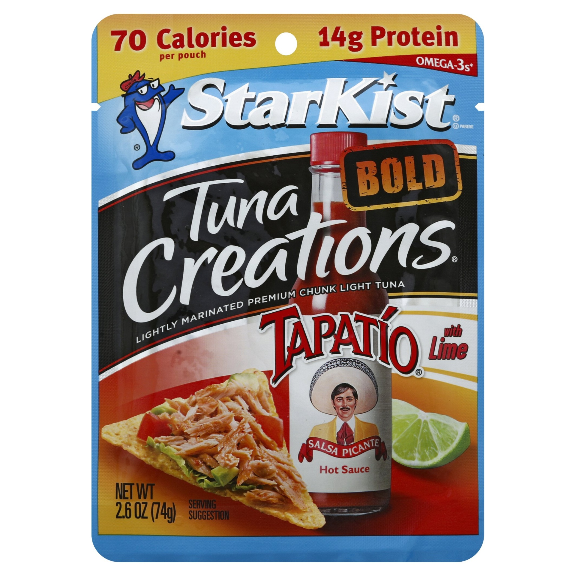 slide 1 of 1, StarKist Tuna Creations Bold Tapatio,