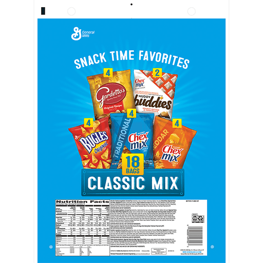 slide 2 of 5, General Mills Snack Time Favorites Classic Mix,