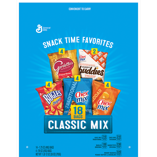 slide 3 of 5, General Mills Snack Time Favorites Classic Mix,