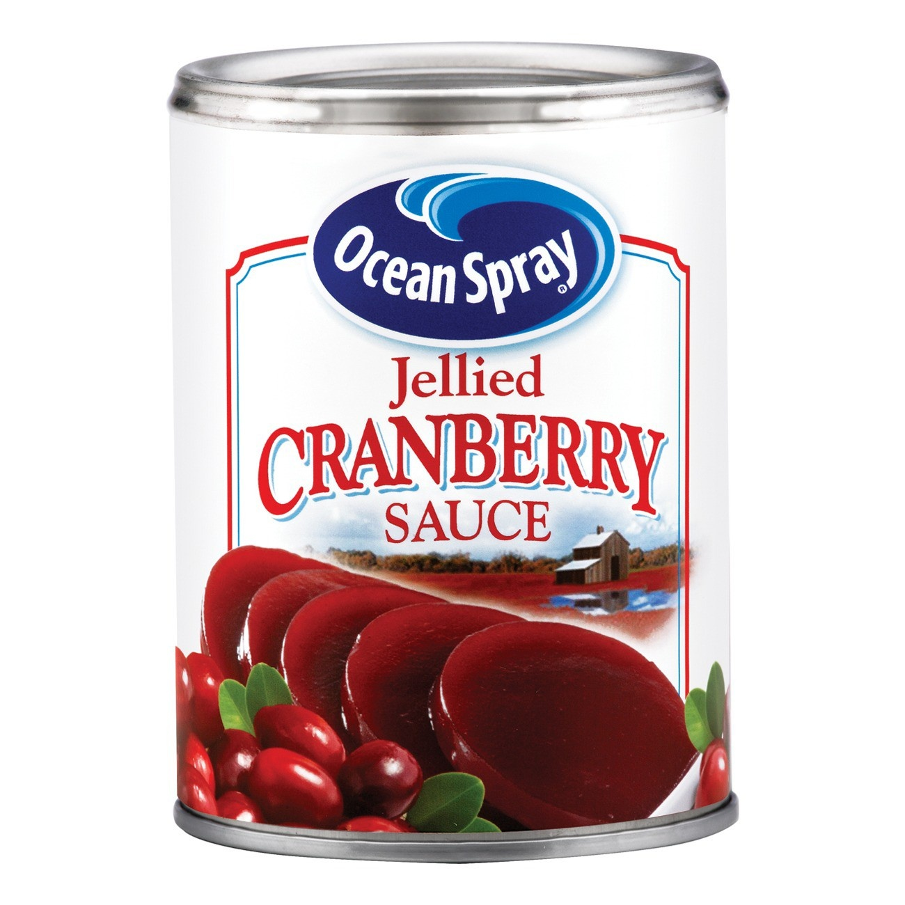 slide 1 of 3, Ocean Spray Jellied Cranberry Sauce,