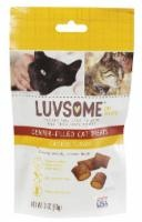 slide 1 of 1, Luvsome Chicken Center-Filled Cat Treats,
