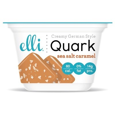 slide 1 of 1, Elli Quark Sea Salt Caramel,
