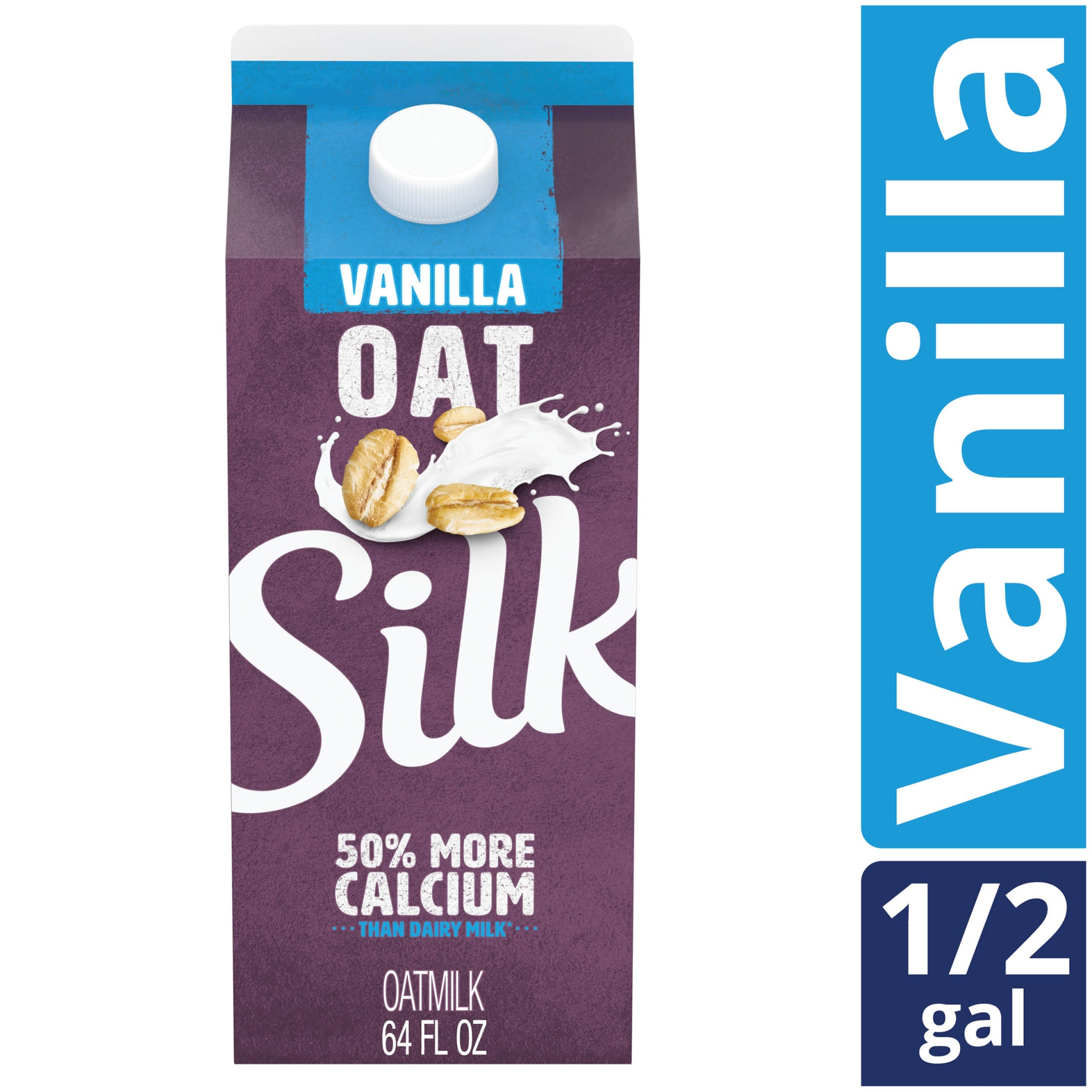 slide 1 of 5, Silk Oat Yeah! Vanilla Oat Milk,
