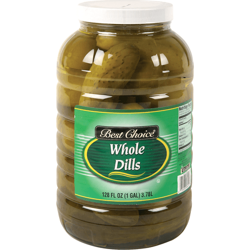 slide 1 of 1, Best Choice Whole Dill Pickle,