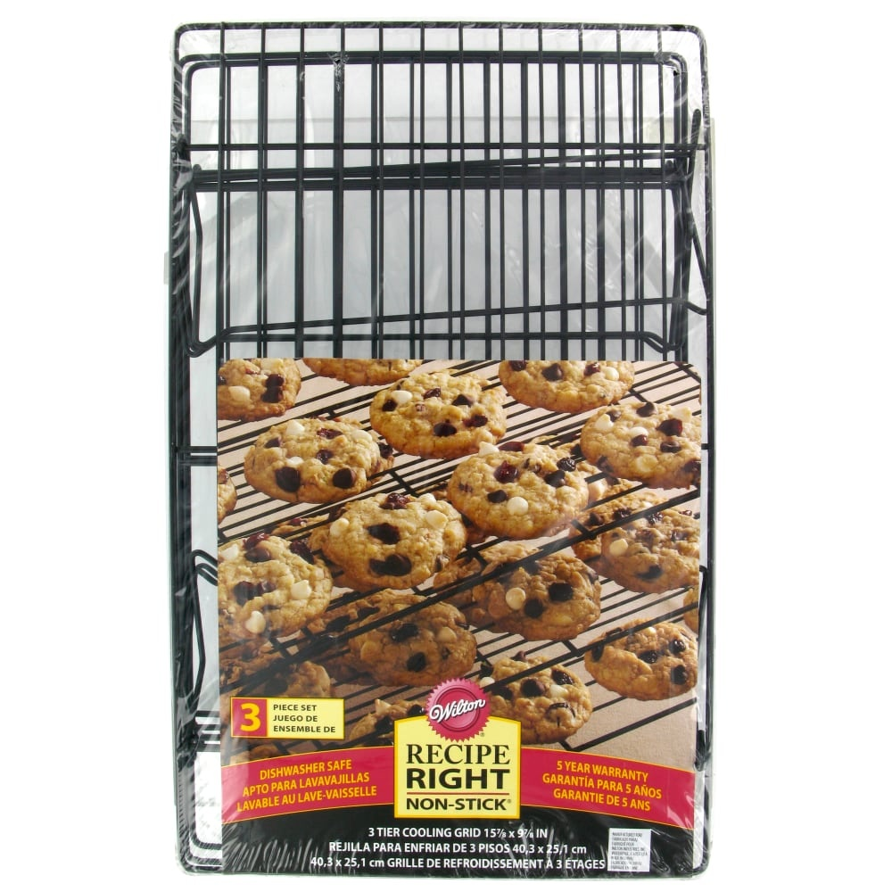 slide 1 of 1, Wilton Recipe Right Nonstick Cooling Grids - Black,