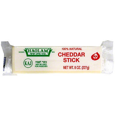 slide 1 of 1, Haolam Cheddar Stick,
