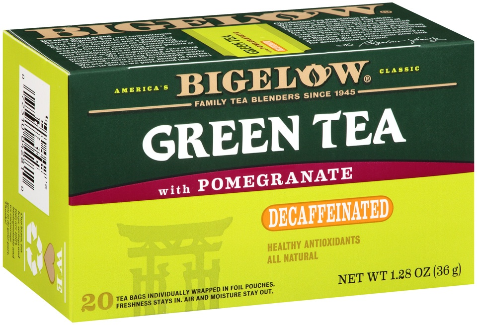 slide 2 of 7, Bigelow Tea Decaf Green W Pomegranate,