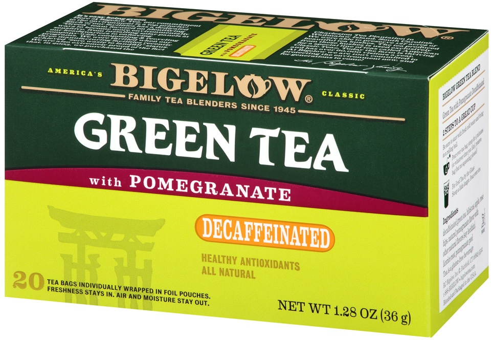 slide 3 of 7, Bigelow Tea Decaf Green W Pomegranate,
