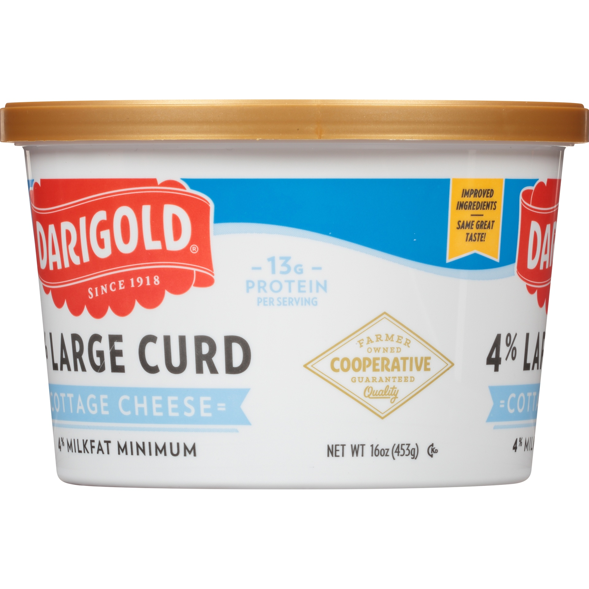 slide 2 of 6, Darigold 4% Large Curd Cottage Cheese,