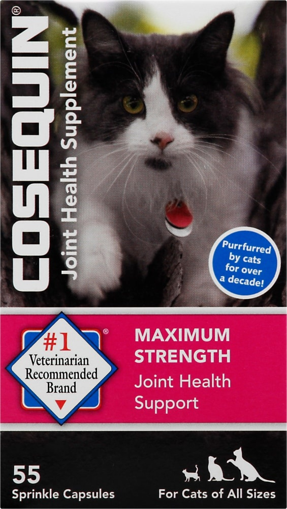 slide 1 of 1, Cosequin For Cats Maximum Strength Joint Health Supplement Capsules,