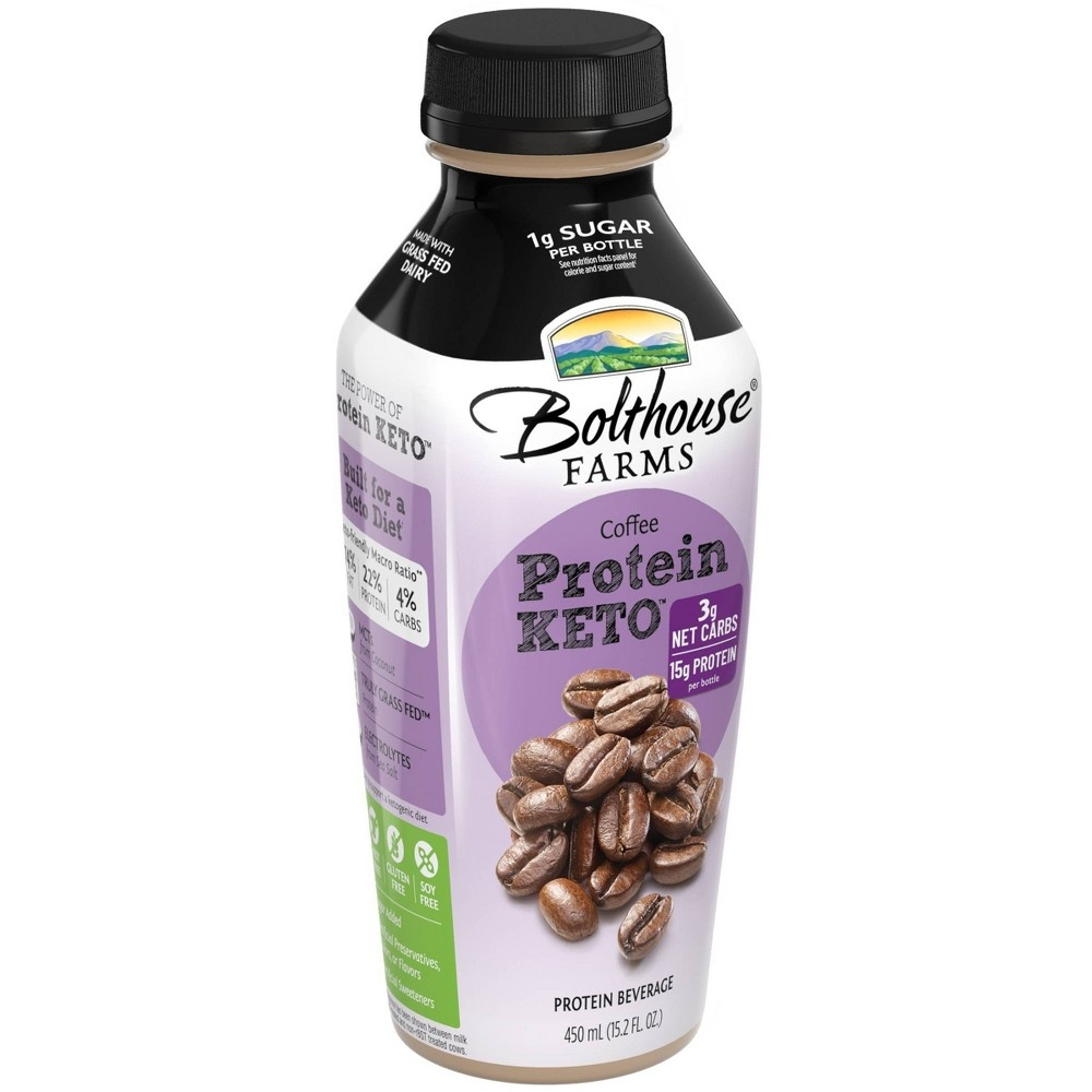 slide 4 of 4, Bolthouse Farms Keto Coffee Protein,