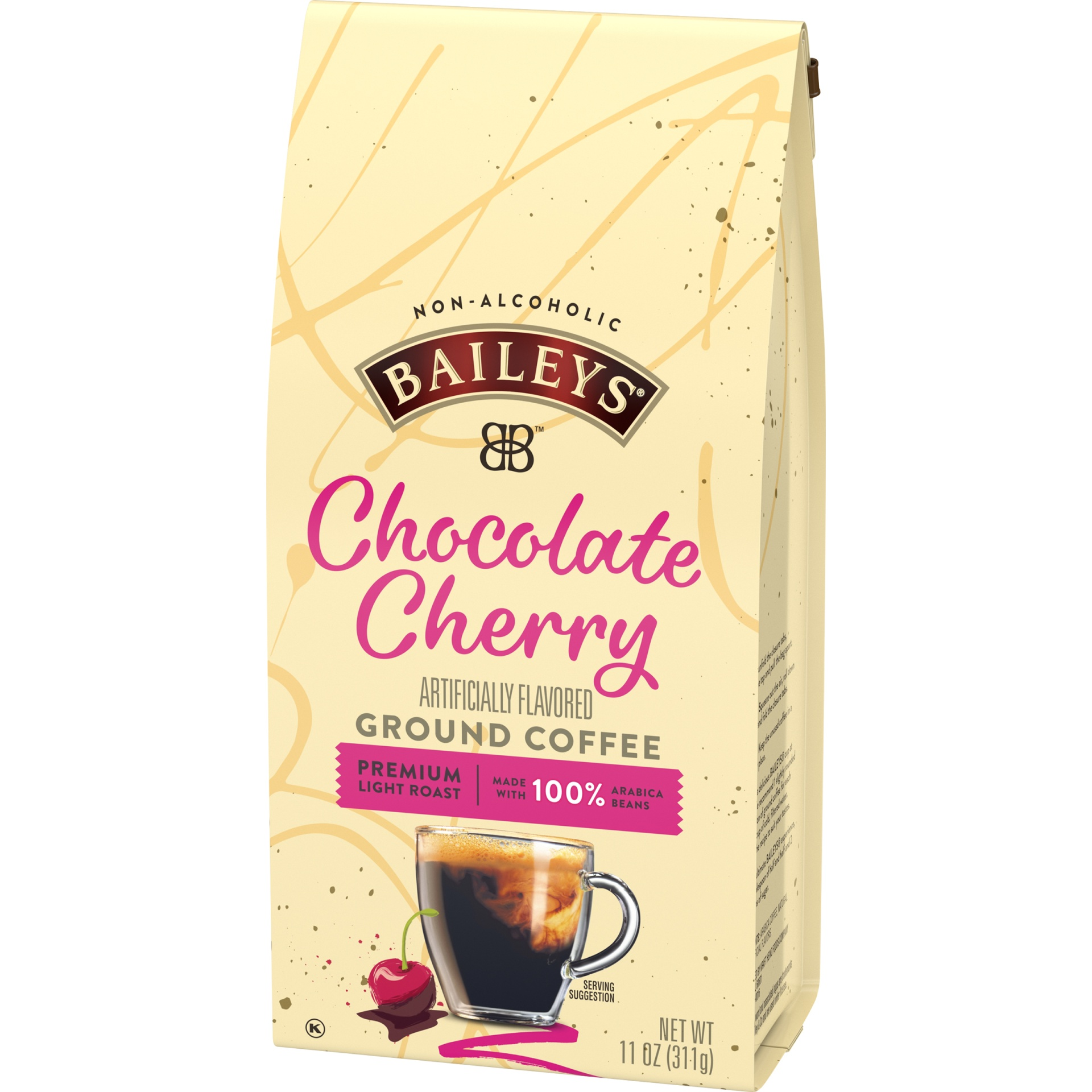 slide 3 of 5, Bailey's Chocolate Cherry Ground Coffee,