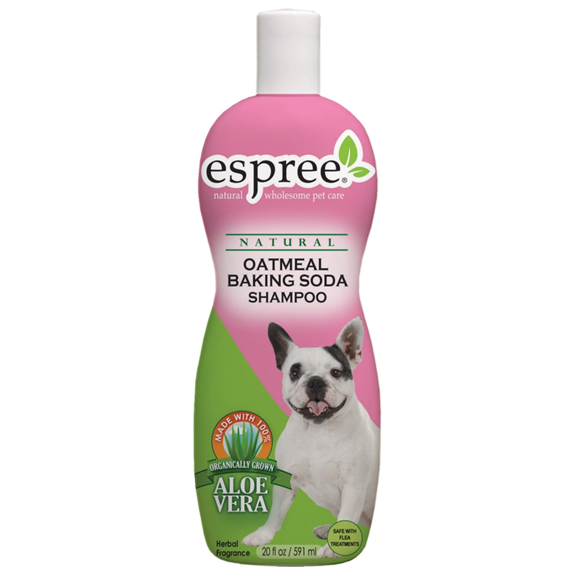 slide 1 of 1, Espree Natural Oatmeal Baking Soda Dog Shampoo,